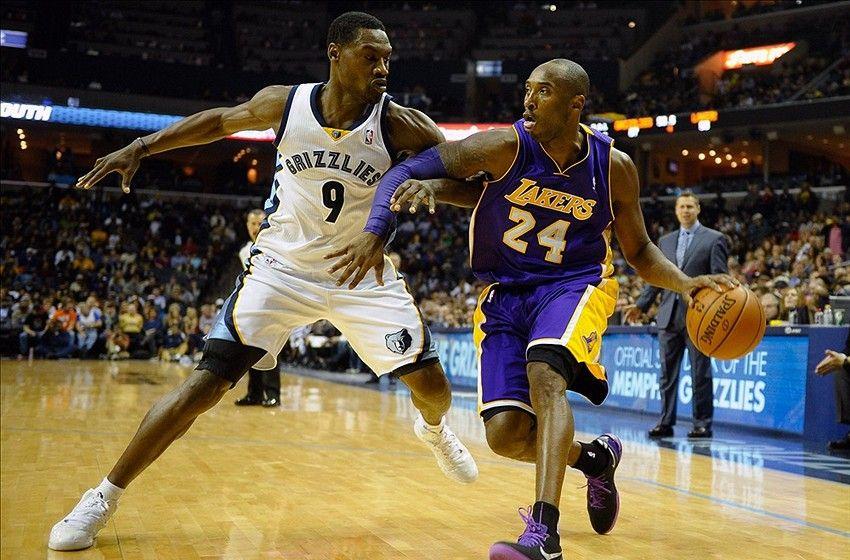 Tony Allen et Kobe Bryant