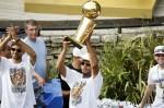 NBA: San Antonio Spurs-Championship Celebration