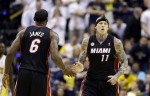 Chris Andersen, LeBron James