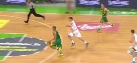 Le superbe chase-down block sur la planche de Goran Dragic sur Alex Garcia