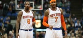 Carmelo Anthony : «pas d'autre choix que de faire fonctionner l'attaque en triangle»