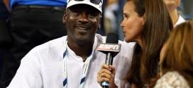 Vidéo : Michael Jordan en spectateur de luxe à l'US Open