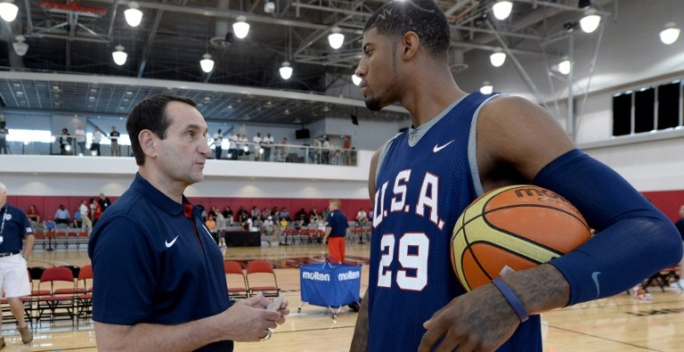 paul george coach k