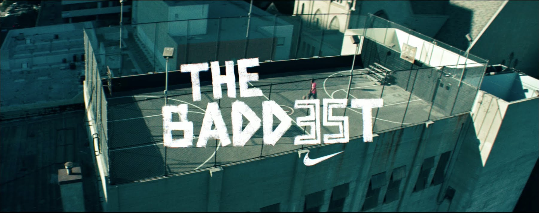Pub Nike/Foot Locker: Be The Baddest feat avec Kevin Durant
