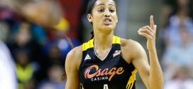 WNBA: le top 10 de la saison de Skylar Diggins, meilleure progression de la saison
