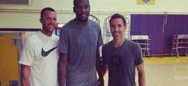 Steve Nash s'entraîne avec Kevin Durant et Russell Westbrook
