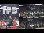 Vidéo : Chris Brown lance Guy Dupuy au concours de dunks Roc Nation