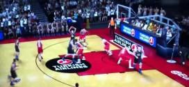 Vidéo: des images du gameplay de NBA 2K15 sur un match d'Euroleague