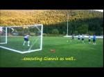 Vidéo: Giannis Antetokounmpo en gardien de but