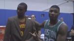 Vidéo : les défis insolites de Marcus Smart durant le shooting des rookies