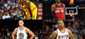 Analyse Vidéo : Qui est le meilleur jeune meneur de jeu NBA ? (Irving, Curry, Lillard, Wall)