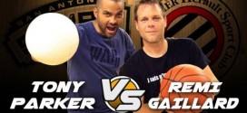 Vidéo: le duel Tony Parker – Rémi Gaillard