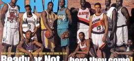 Slam recrée sa couverture mythique de la draft 1996 avec celle de 2014
