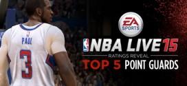 NBA Live 15: les 5 meilleurs meneurs dévoilés