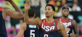 Les highlights de Derrick Rose pendant la coupe du monde