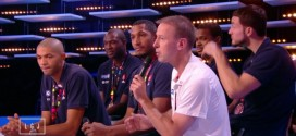 Le passage de l'équipe de France de basket au Grand Journal