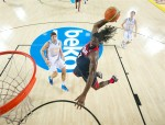 Kenneth Faried dunk team USa
