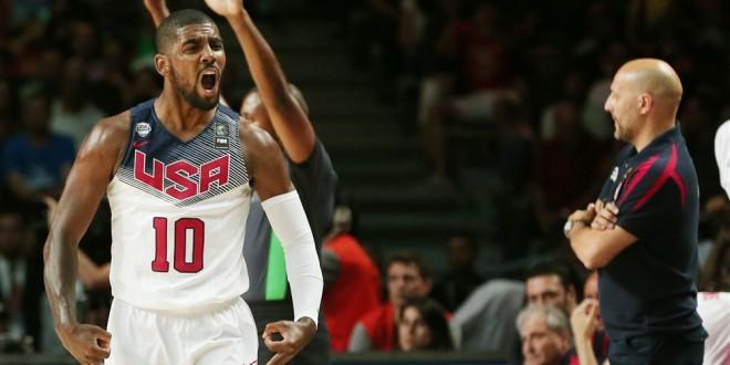 Team USA marche sur la Serbie pour conquérir l'or