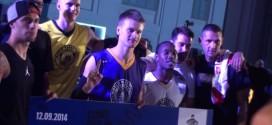 Le#SneakerBall dunk contest de Madrid avecRafal 'Lipek' etPorter Maberry