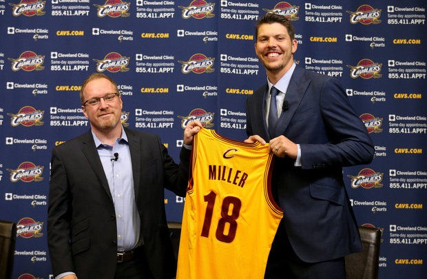 Mike Miller et David Griffin