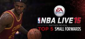 NBA Live 15: les 5 meilleurs ailiers dévoilés