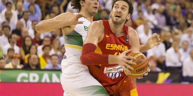 L'Espagne en démonstration face au Brésil avec un Pau Gasol royal