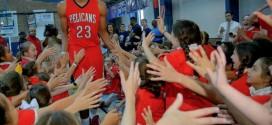 Les New Orleans Pelicans dévoilent leur maillot 'alternate'pour la saison