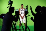 San Antonio Spurs' Tim Duncan