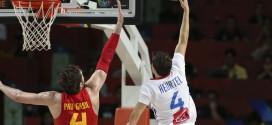 Les highlights complets de Thomas Heurtel face à l'Espagne: 13 points et 4 passes
