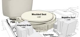 Les plans de la nouvelle salle (en forme de toilettes) des Warriors