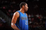 Wayne Ellington #21 of the Dallas Mavericks