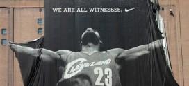 Une nouvelle bannière géante pour LeBron James à Cleveland