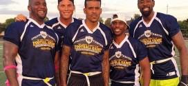 Vidéo : Blake Griffin, DeAndre Jordan et Chris Paul participent à un match de foot américain pour la bonne cause