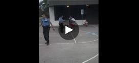 Vidéo : quand jeunes et policiers de Houston jouent ensemble