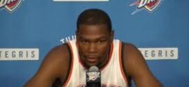Kevin Durant sur Reggie Jackson: tout le monde voulait être icisauf un