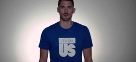 Kevin Love participe à une campagne visant à lutter contre les agressions sexuelles