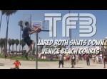 L'impressionnante session de dunks de Jared Roth