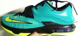 Kicks: premières images des Nike KD 7 'Hyper Jade'