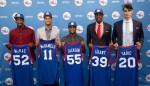 Philadelphia 76ers Draft Picks Press Conference