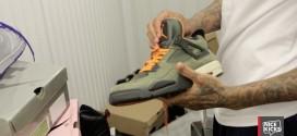 Vidéo : Wilson Chandler vend son entrepôt de sneakers