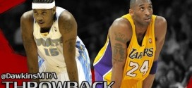 [Vintage] Le duel Kobe Bryant (35 points) – Carmelo Anthony (35 points) en 2004