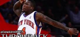 Vintage: le record en carrière de Nate Robinson: 45 points