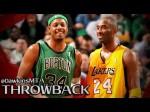 Vintage: le superbe duel Kobe Bryant (40 pts) – Paul Pierce (39 points) en 2006