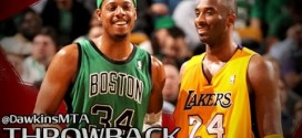 Vintage: le superbe duel Kobe Bryant (40 pts) – Paul Pierce (39 points) en 2006
