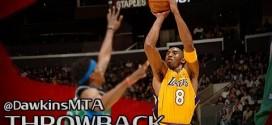 Vintage: les 62 points en trois quart temps de Kobe Bryant en 2005