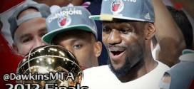 Vintage: les highlights complets de LeBron James lors des finales 2012