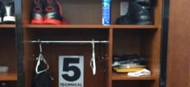 Photo: DeMarcus Cousins affiche sonobjectif dans son vestiaire
