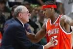 Carmelo anthony et Jim Boeheim
