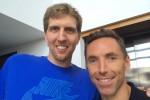 Dirk Nowitzki et Steve Nash