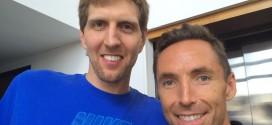 Dirk Nowitzki rend hommage à Steve Nash